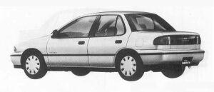 Isuzu Gemini SEDAN C/C-L TURBO DIESEL 1990 г.