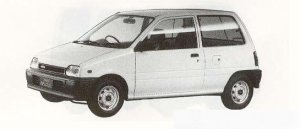 Daihatsu Mira 4WD A 1990 г.