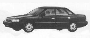 Subaru Legacy 4DOOR SEDAN 1.8L Vi 1990 г.