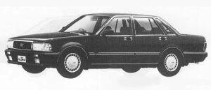 Nissan Gloria 4DOOR V20 TWIN CAM TURBO SV 1990 г.
