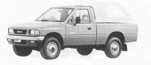 Isuzu Rodeo 4WD SUPER 1990 г.