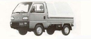 Honda Acty Truck 4WD ATTACK 1990 г.