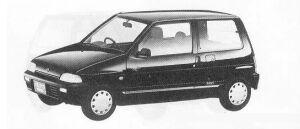 Suzuki Alto 3DOOR LEZINA-S 1990 г.