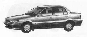 Mitsubishi Mirage 1500 4WD VIE SALOON 1990 г.