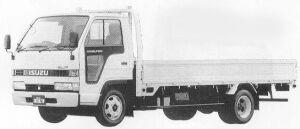 Isuzu Elf 2T FULL FLAT LOW LONG BODY 1990 г.