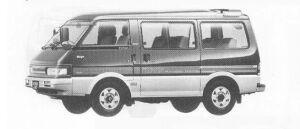 Mazda Bongo WAGON 4WD 2000 DIESEL TURBO 1990 г.
