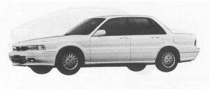Mitsubishi Galant 1.8 GF 1990 г.
