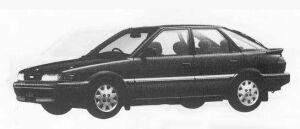 Toyota Sprinter CIELO 1500XS 1990 г.