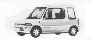 MITSUBISHI MINICA TOPPO 1990 г.