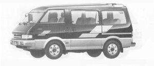 Mazda Eunos Cargo WAGON 4WD 2000 DIESEL TURBO NORMAL ROOF 1990 г.