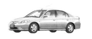 Honda Civic Hybrid  2004 г.