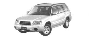 Subaru Forester X20 2004 г.