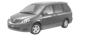 Mazda MPV Sports (2.3L) 7-seaters, FF 2004 г.