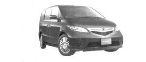 Honda Elysion VZ 2004 г.