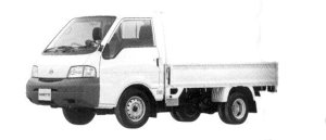 Nissan Vanette Truck 2WD, Super Low, Double Tire, Long Body, DX 1800 Gasoline 2004 г.