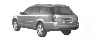 Subaru Outback 2.5i 2004 г.