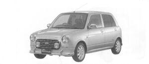 Daihatsu Mira GINO MINILITE Special Turbo 2WD 2004 г.
