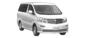 "Toyota Alphard G MX ""L Edition"" 8-seaters 2004 г."