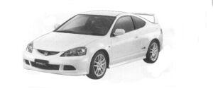 Honda Integra TYPE R 2004 г.
