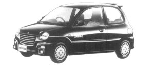 Mitsubishi Minica 3DOOR DARFAIT 1997 г.
