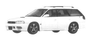 Subaru Legacy TOURING WAGON 4WD GT-B 1997 г.