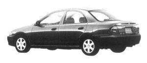 Mazda Familia SEDAN LS 4WD 1600 1997 г.