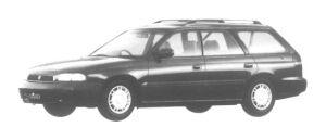 Subaru Legacy TOURING WAGON 4WD LX 1997 г.