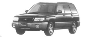 Subaru Forester S/tb 1997 г.