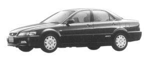Honda Accord 2.0VTS 4WD 1997 г.