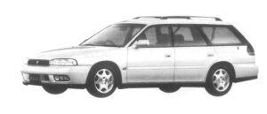Subaru Legacy TOURING WAGON 4WD 250T 1997 г.