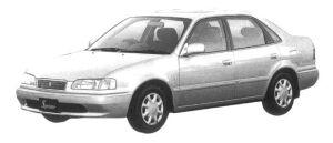 Toyota Sprinter SEDAN 1.5 SE-VINTAGE  L SELECTION 1997 г.