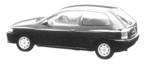 Mazda Familia HATCHBACK  TYPE C 1997 г.