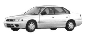 Subaru Legacy TOURING SEDAN LX 1997 г.