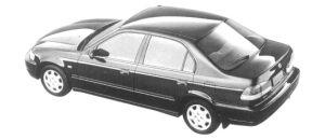 Honda Domani 16G 4WD 1997 г.