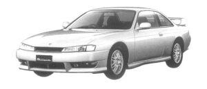 Nissan Silvia Q'S AERO SE 1997 г.