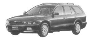 Mitsubishi Legnum 25ST 4WD 1997 г.