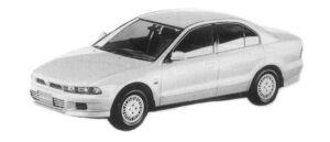 Mitsubishi Galant VR-G 4WD 1997 г.