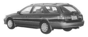 Toyota Mark II Wagon 2.2 QUALIS FOUR 1997 г.