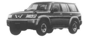 Nissan Safari 4DOOR WAGON GRANROAD 4200 TURBO 1997 г.
