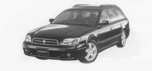 Subaru Legacy TOURING WAGON TS Type R 1999 г.