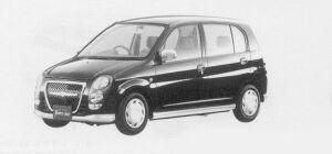 Mitsubishi Minica 5DOOR TOWN BEE 1999 г.