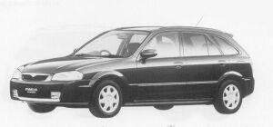 Mazda Familia S-WAGON R 1999 г.