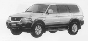 Mitsubishi Challenger X 1999 г.