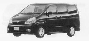 Nissan Serena HIGHWAY STAR G PACK (2WD 2000 GASOLINE) 1999 г.