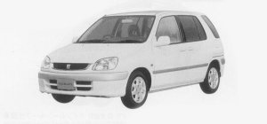 "Toyota Raum SEPARATE ""C PACKAGE"" 1999 г."