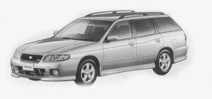 Nissan Avenir GT4-Z TWINCAM TURBO 2000 1999 г.