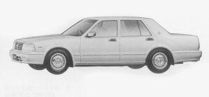 Nissan Cedric SEDAN V30E BRAUHAM VIP 1999 г.