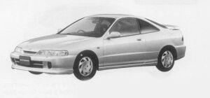 Honda Integra 3DOOR COUPE SUPER STYLE 1999 г.