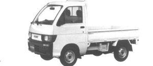 Daihatsu Hijet SUPER DELUXE 4WD 1995 г.