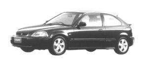 Honda Civic 3 door SiR II 1995 г.